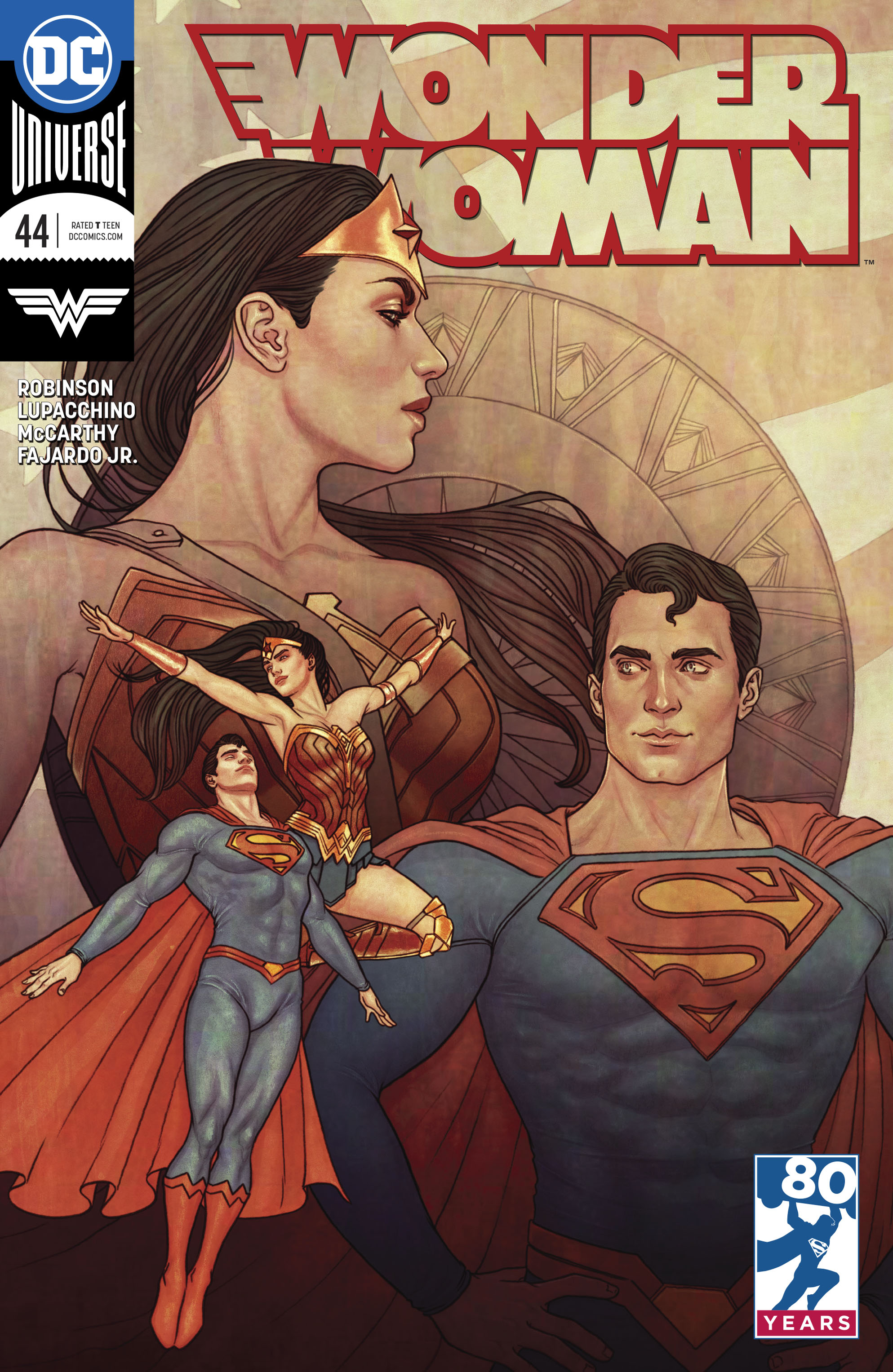 WONDER WOMAN #44 VAR ED