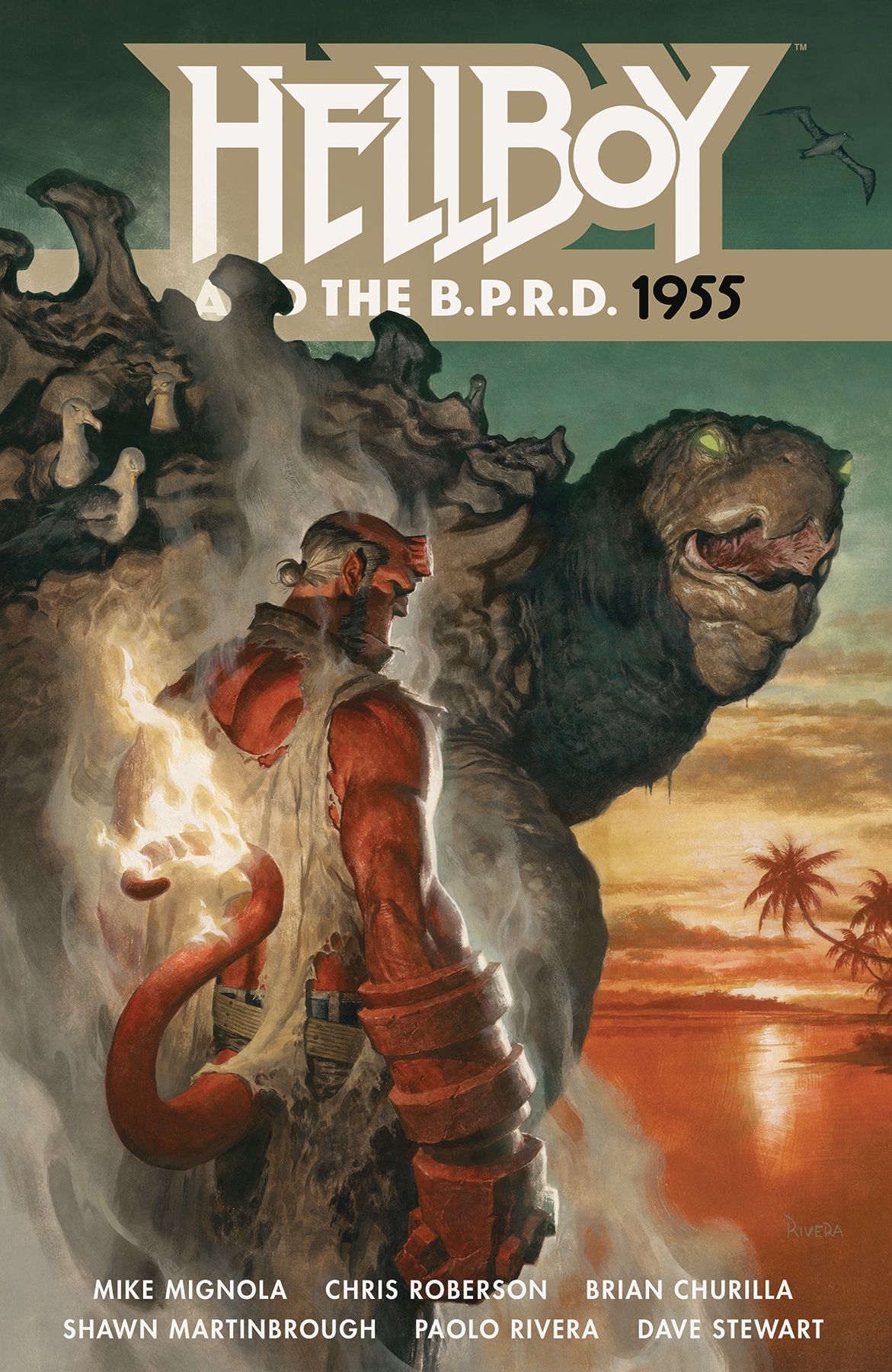 HELLBOY AND THE BPRD 1955 TP