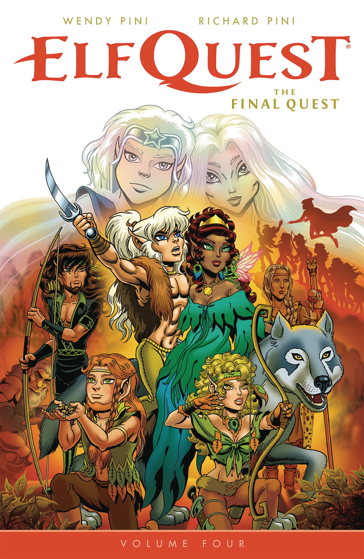 ELFQUEST FINAL QUEST TP VOL 04 (FEB180084)