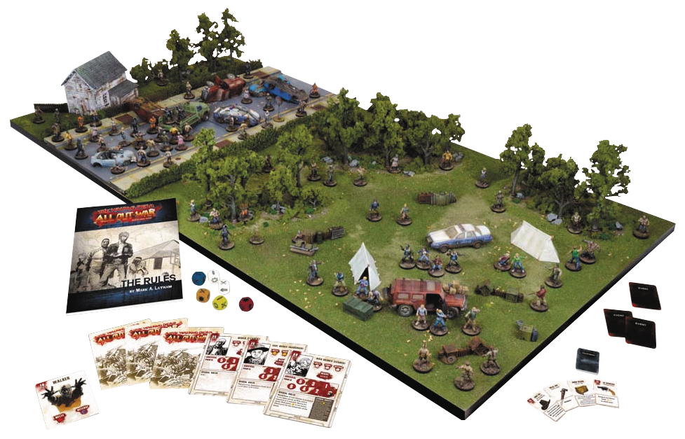 WALKING DEAD ALL OUT WAR MINI GAME CORE SET