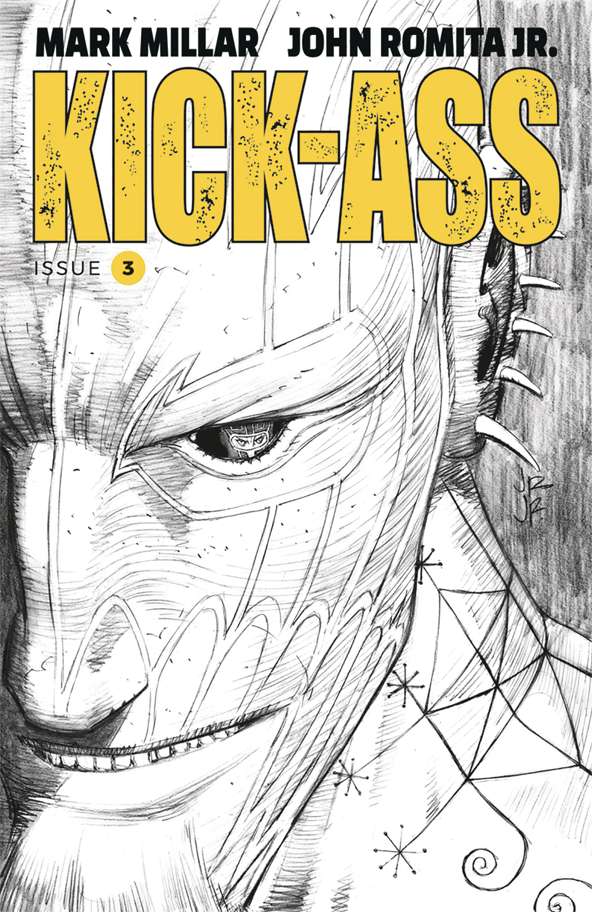 KICK-ASS #3 CVR B B&W ROMITA JR (MR)