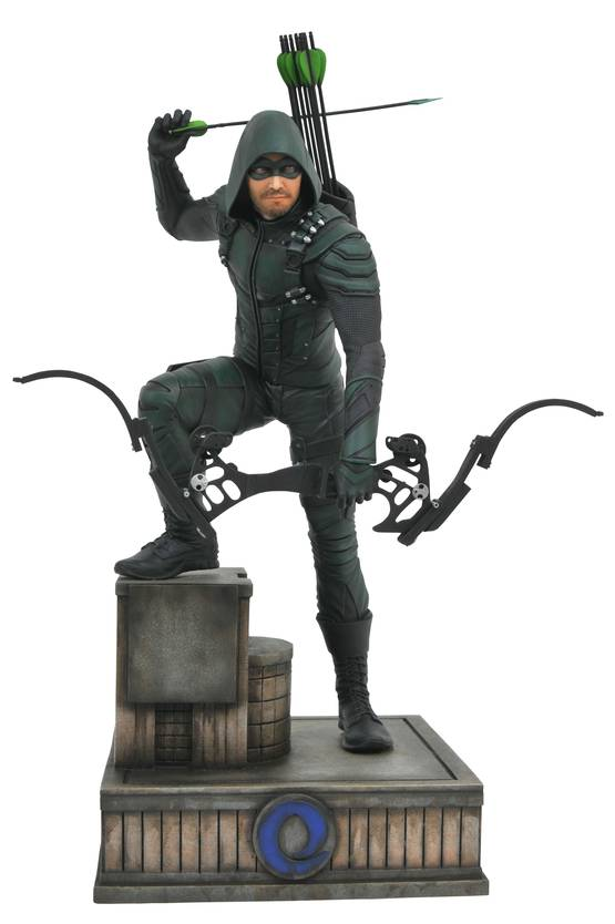 GREEN ARROW CW GALLERY PVC STATUE