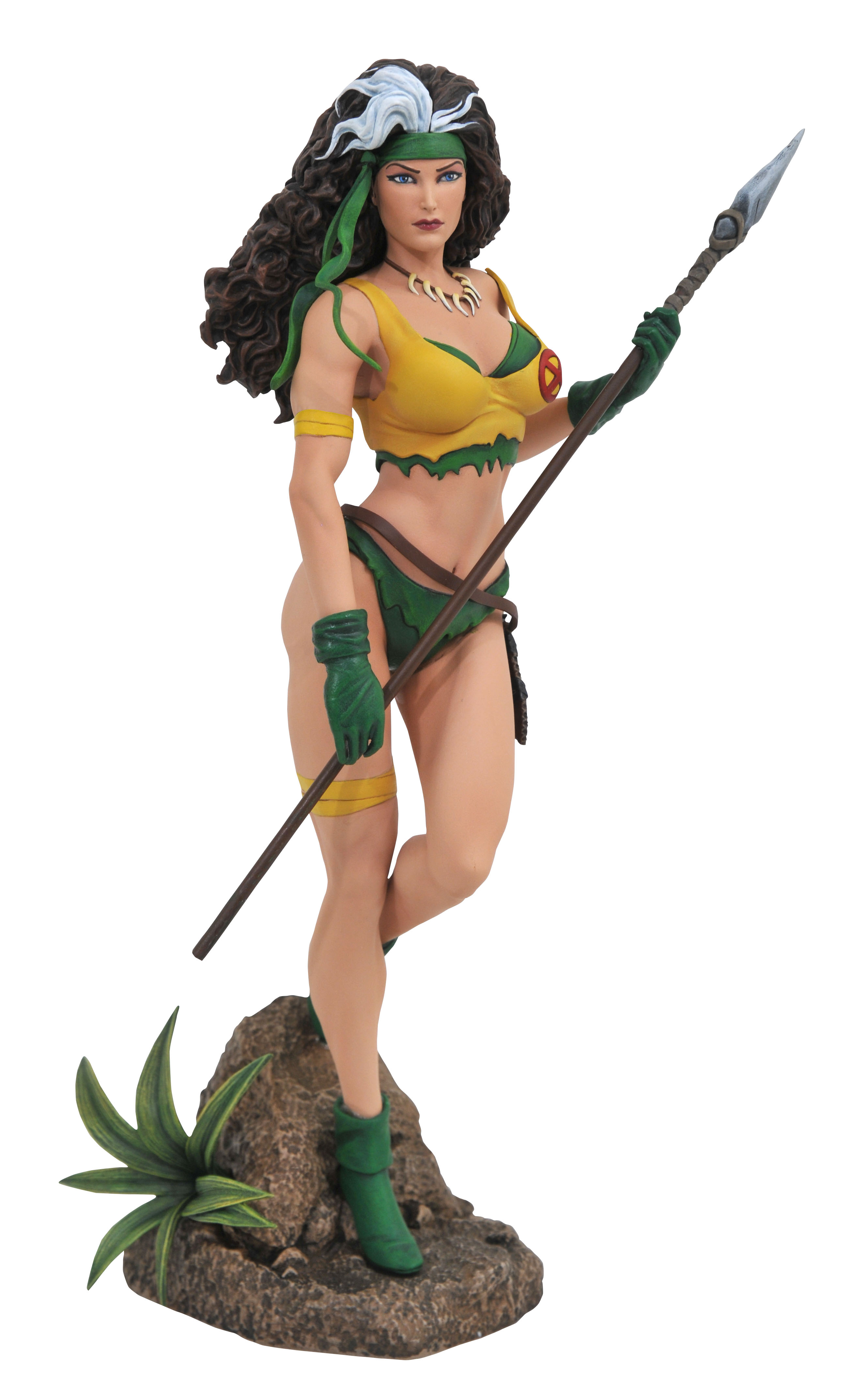 MARVEL GALLERY ROGUE SAVAGE LAND COMIC PVC FIGURE