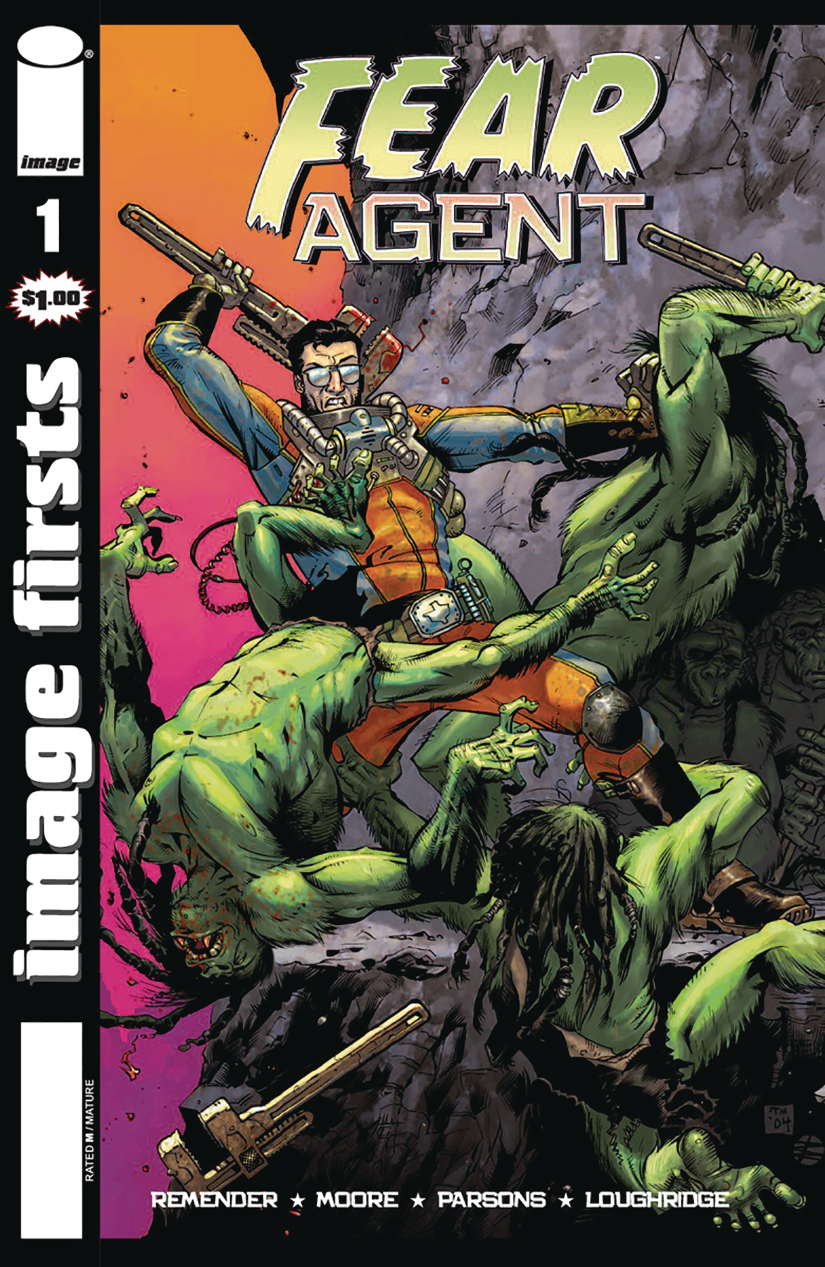 IMAGE FIRSTS FEAR AGENT #1