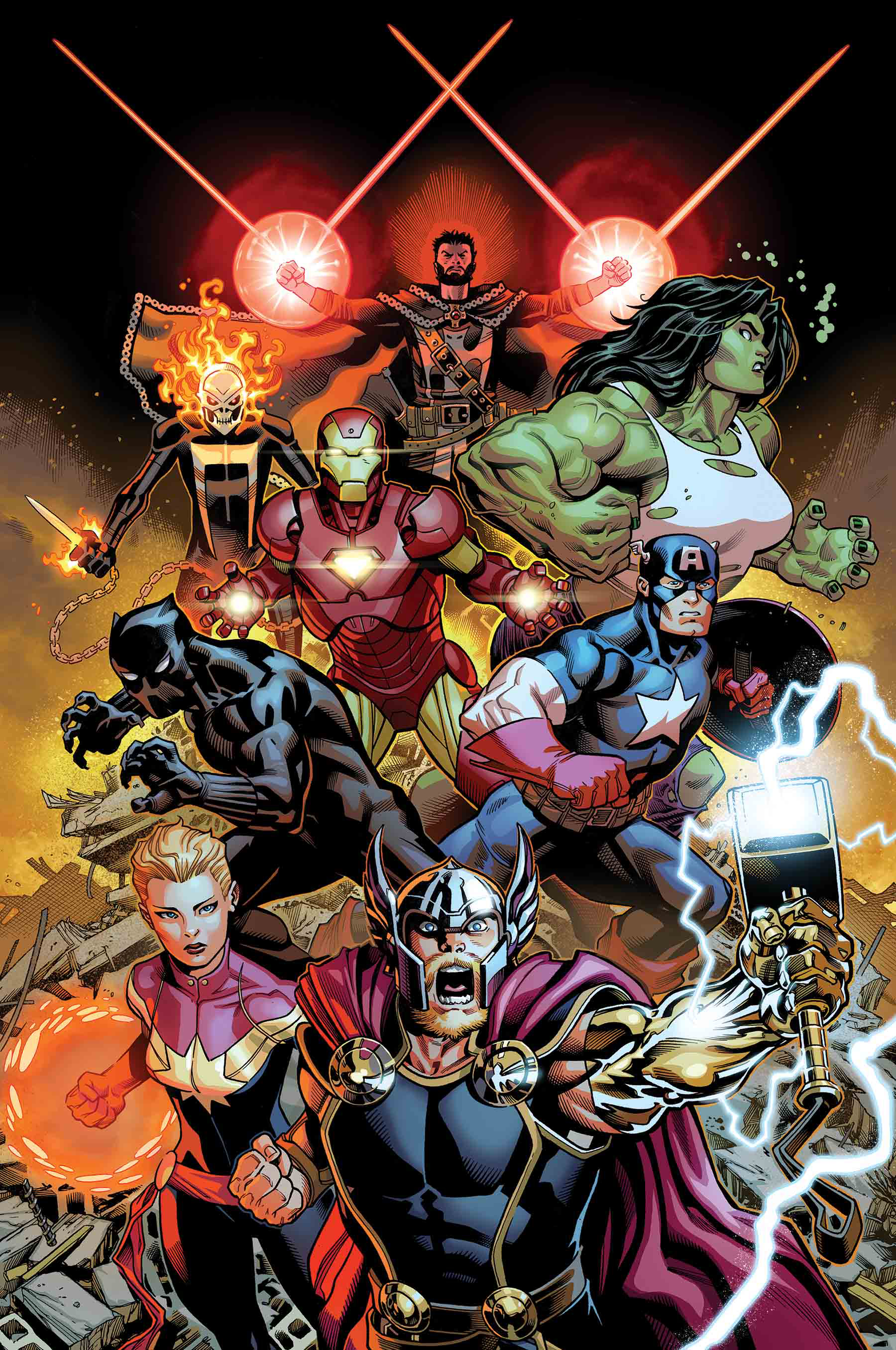 AVENGERS #1 BY MCGUINNESS POSTER