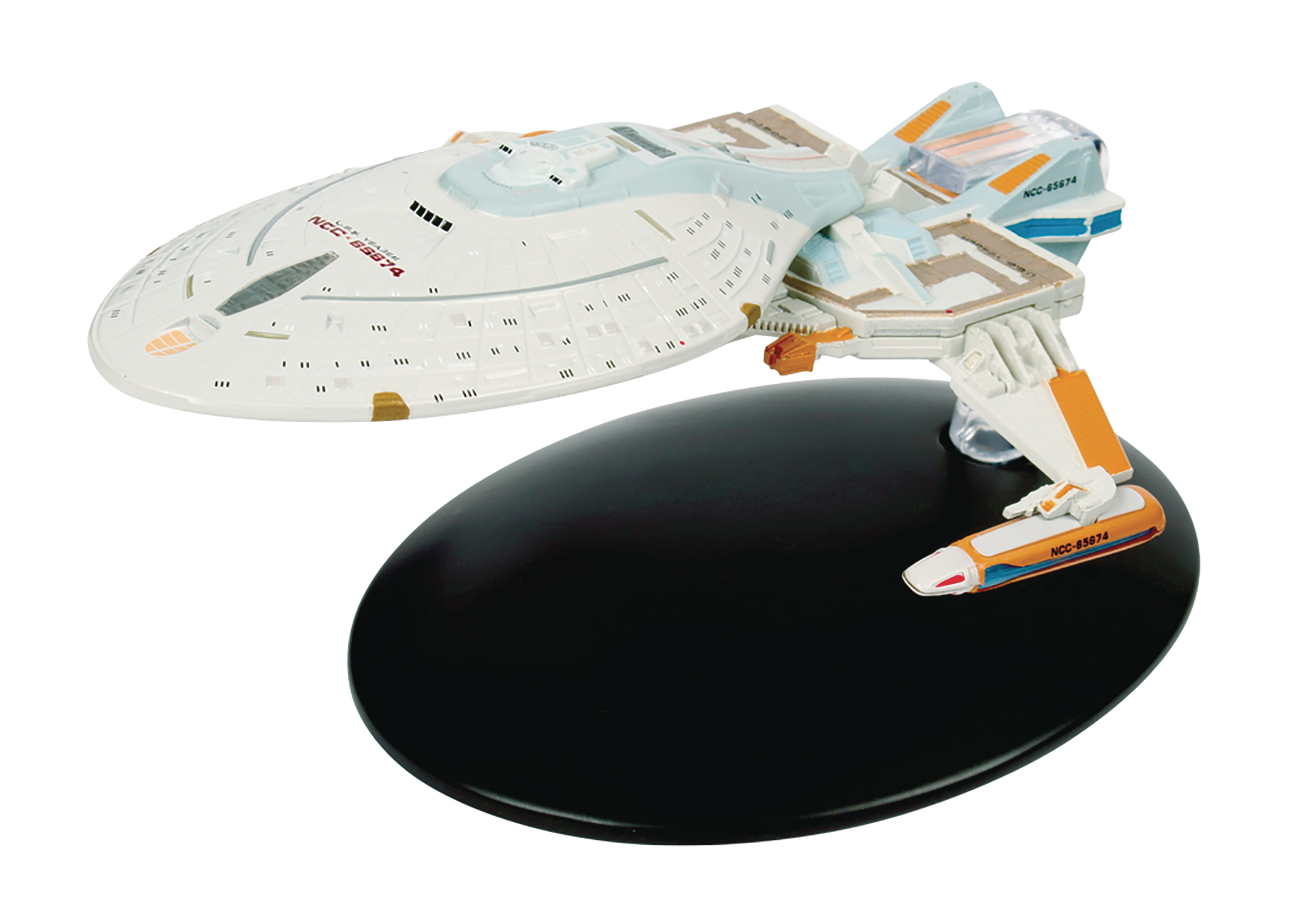 STAR TREK STARSHIPS FIG MAG #122 YEAGER CLASS