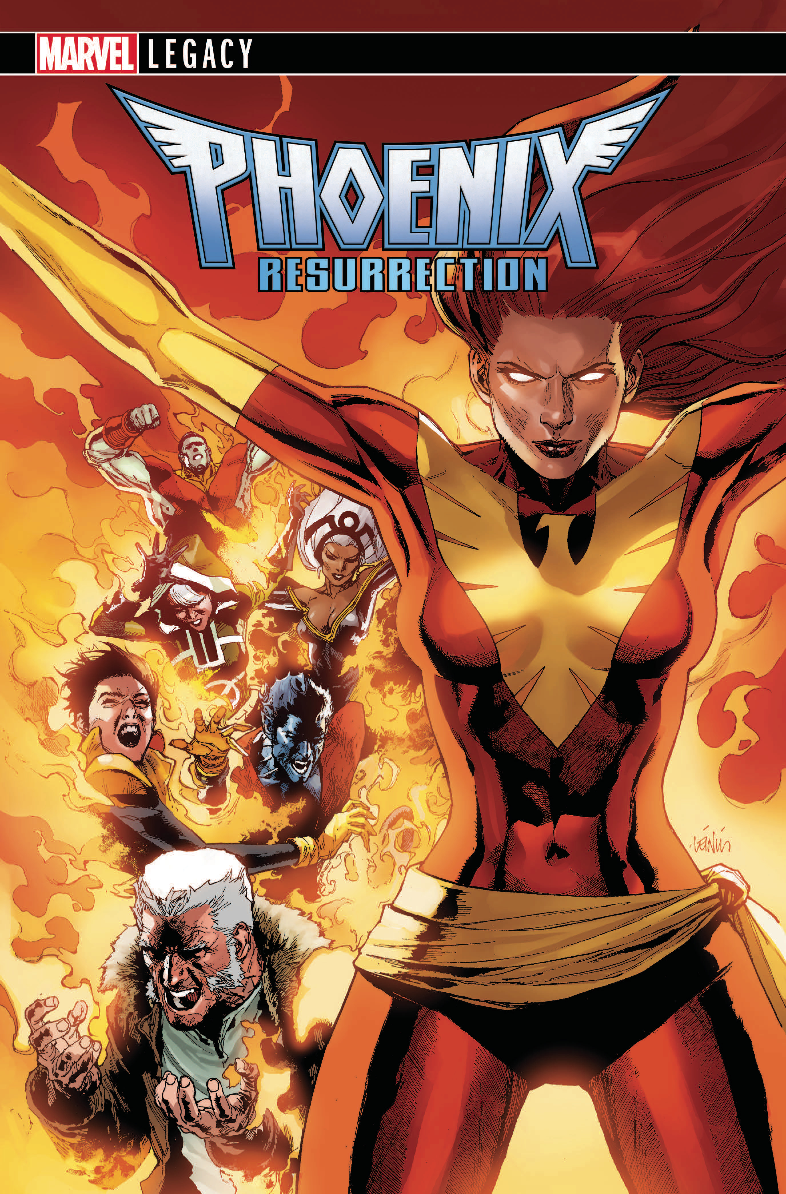 PHOENIX RESURRECTION RETURN JEAN GREY #1