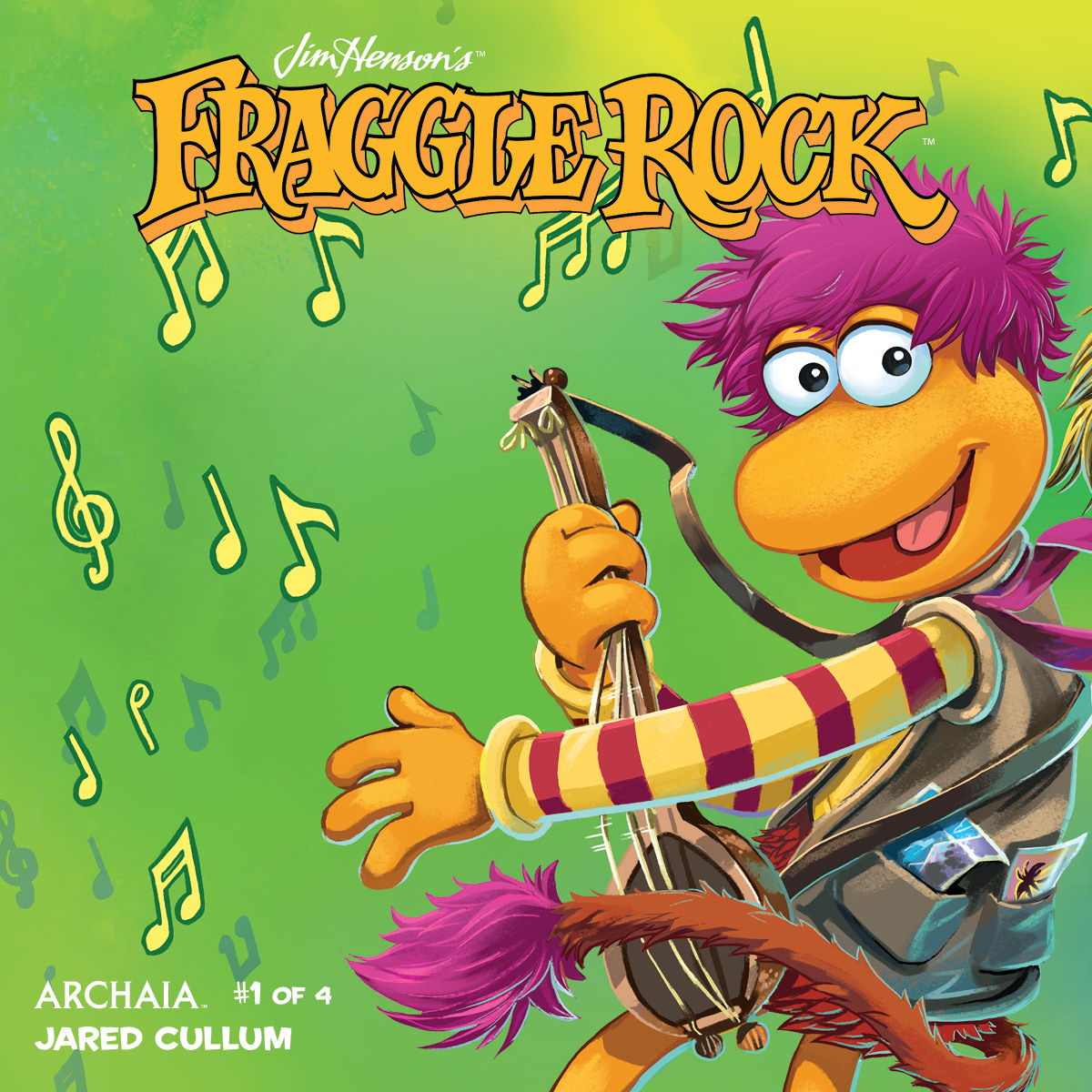 JIM HENSON FRAGGLE ROCK #1 SUBSCRIPTION MYLER CONNECTING CVR