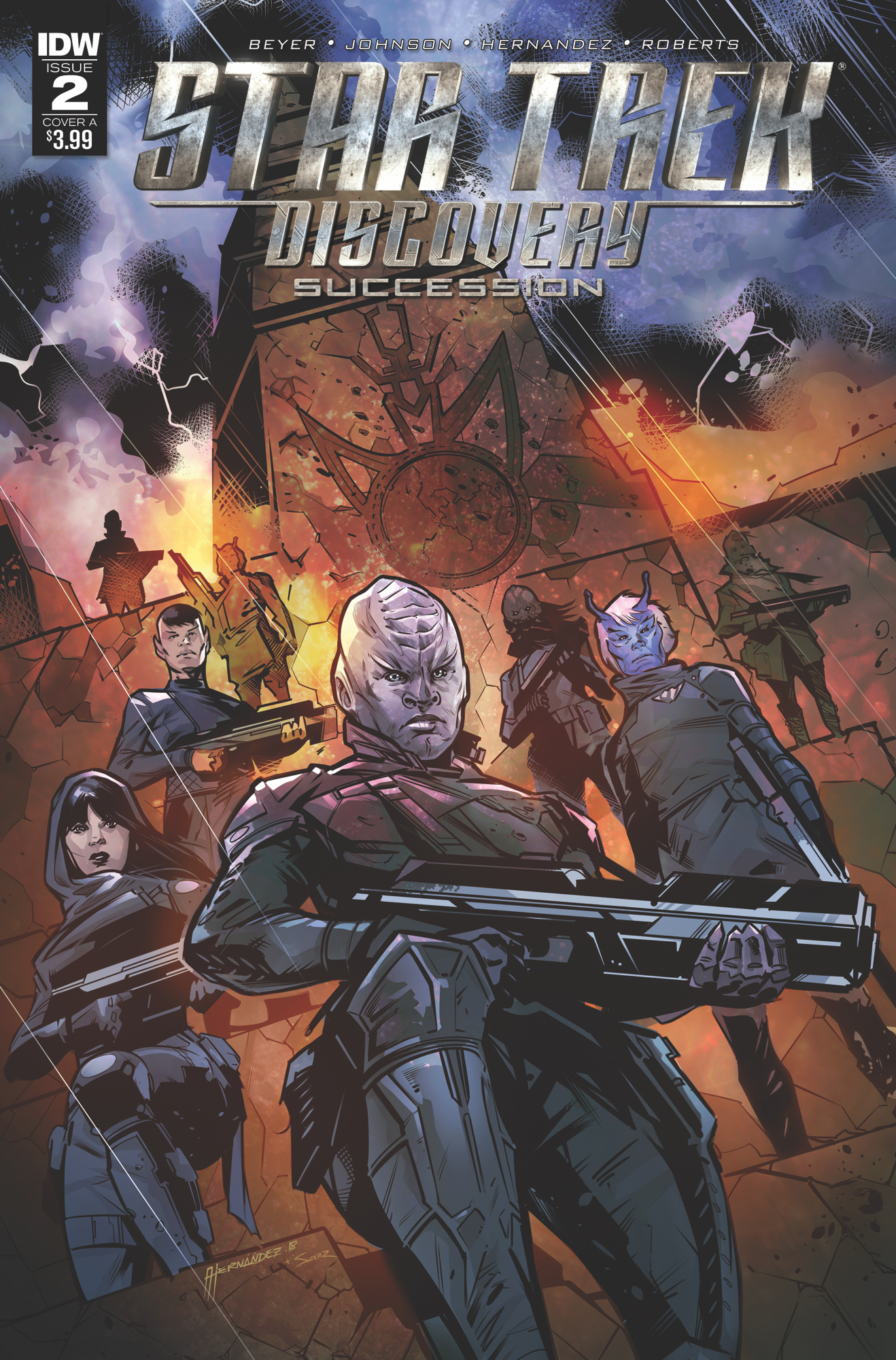 STAR TREK DISCOVERY SUCCESSION #2 CVR A HERNANDEZ