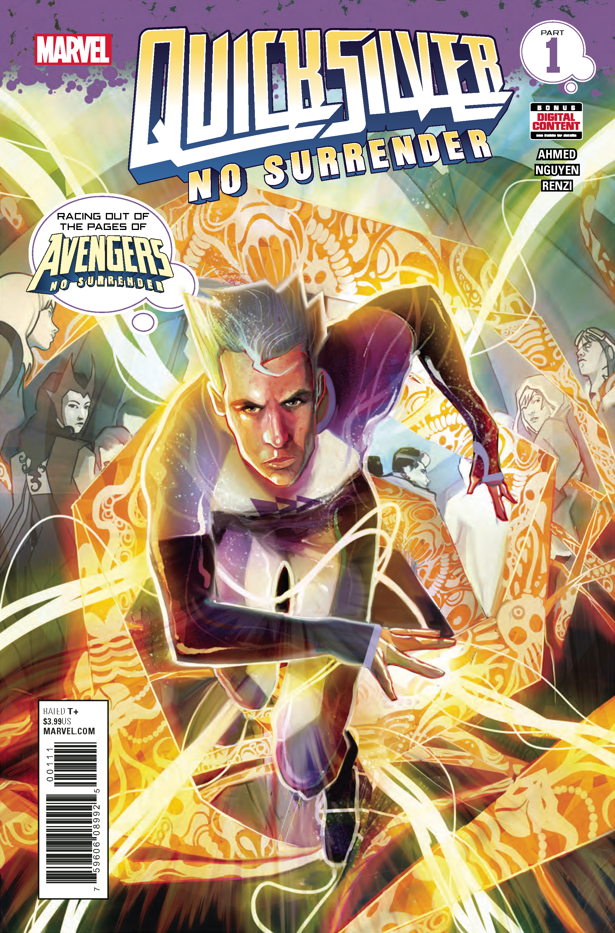 QUICKSILVER NO SURRENDER #1 (OF 5)
