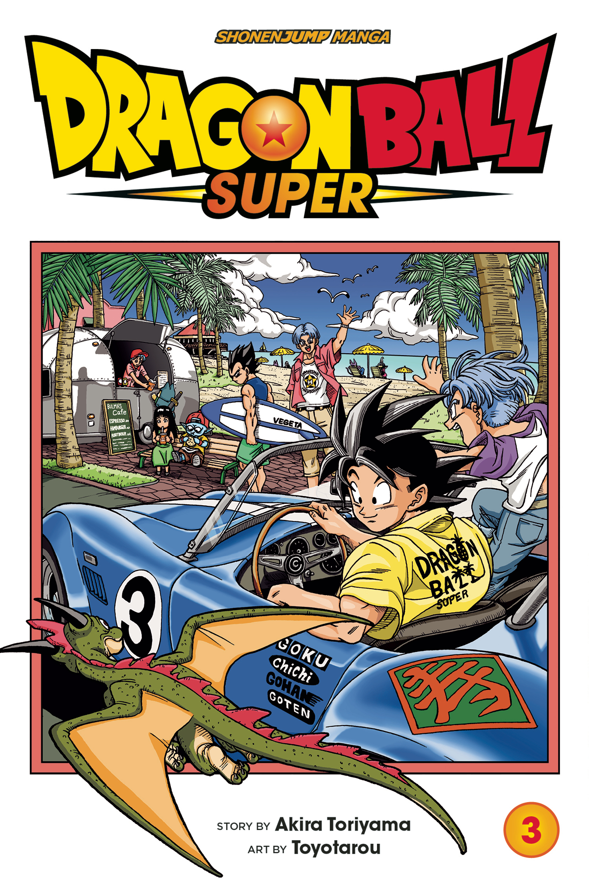 DRAGON BALL SUPER GN VOL 03