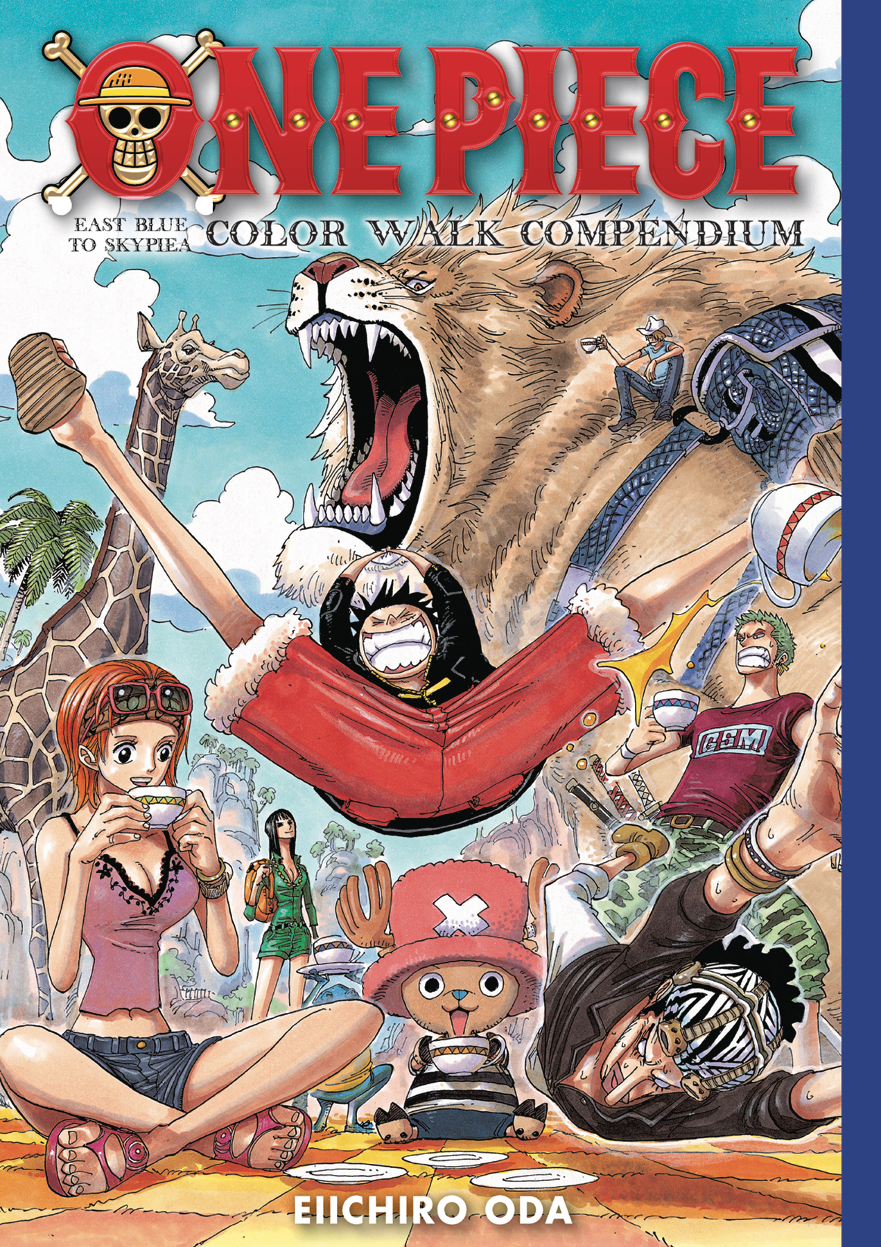 ONE PIECE COLOR WALK COMPENDIUM HC EAST BLUE SKYPIEA