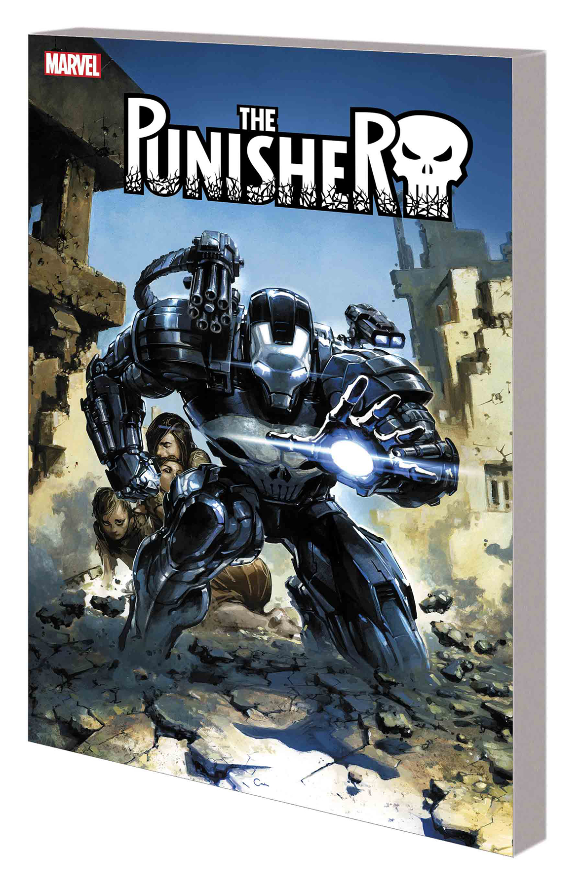 PUNISHER WAR MACHINE TP VOL 01