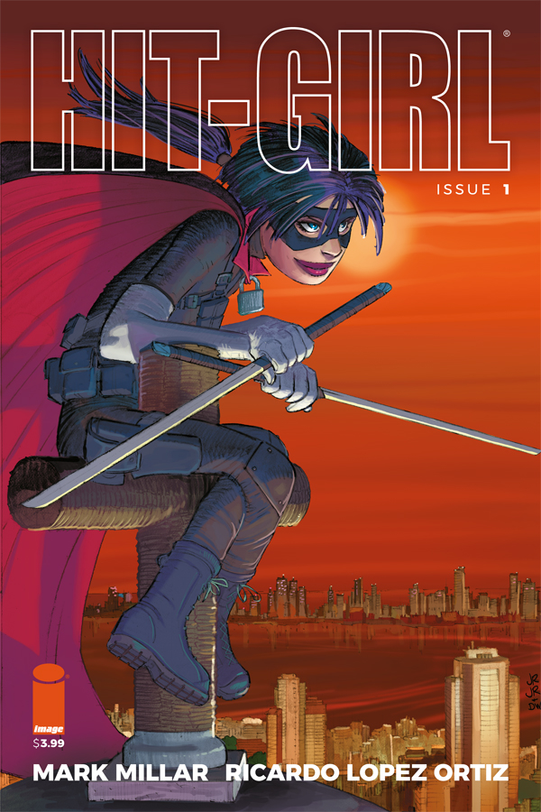 HIT-GIRL #1 CVR G ROMITA JR (MR)