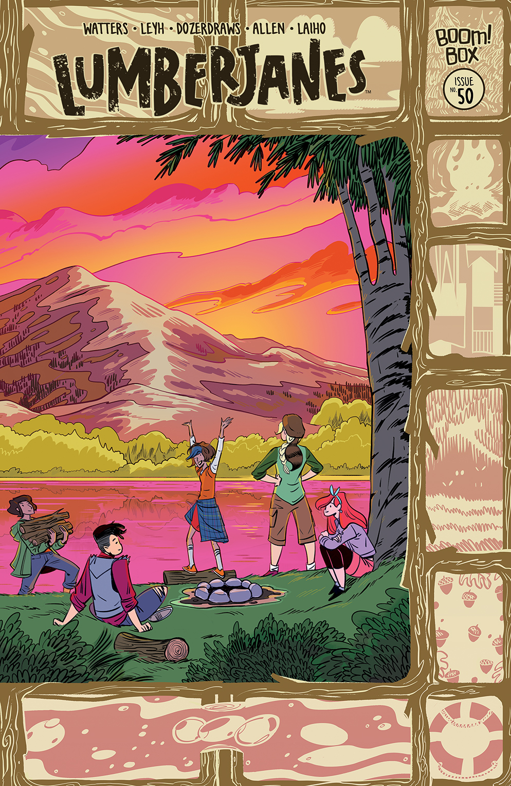 LUMBERJANES #50 CONNECTING FISH VAR