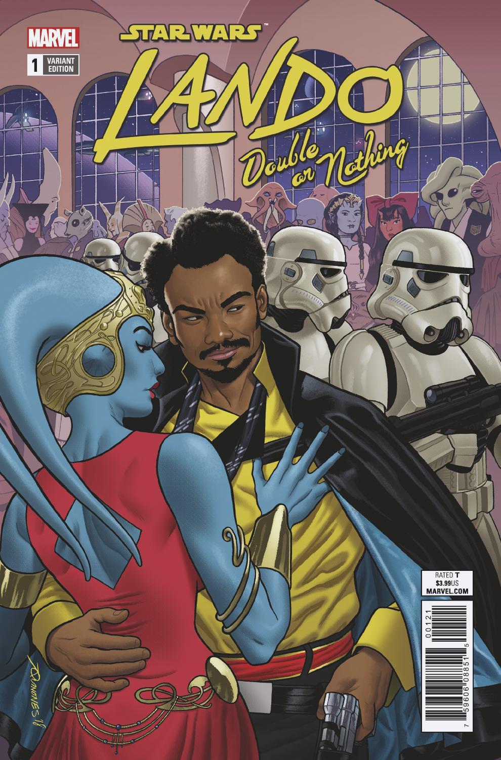 Star Wars:, Rodney Barnes;Paolo Villanelli Double or Nothing Star Wars Lando