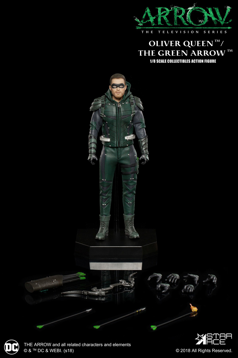 DC TV GREEN ARROW 1/8 AF