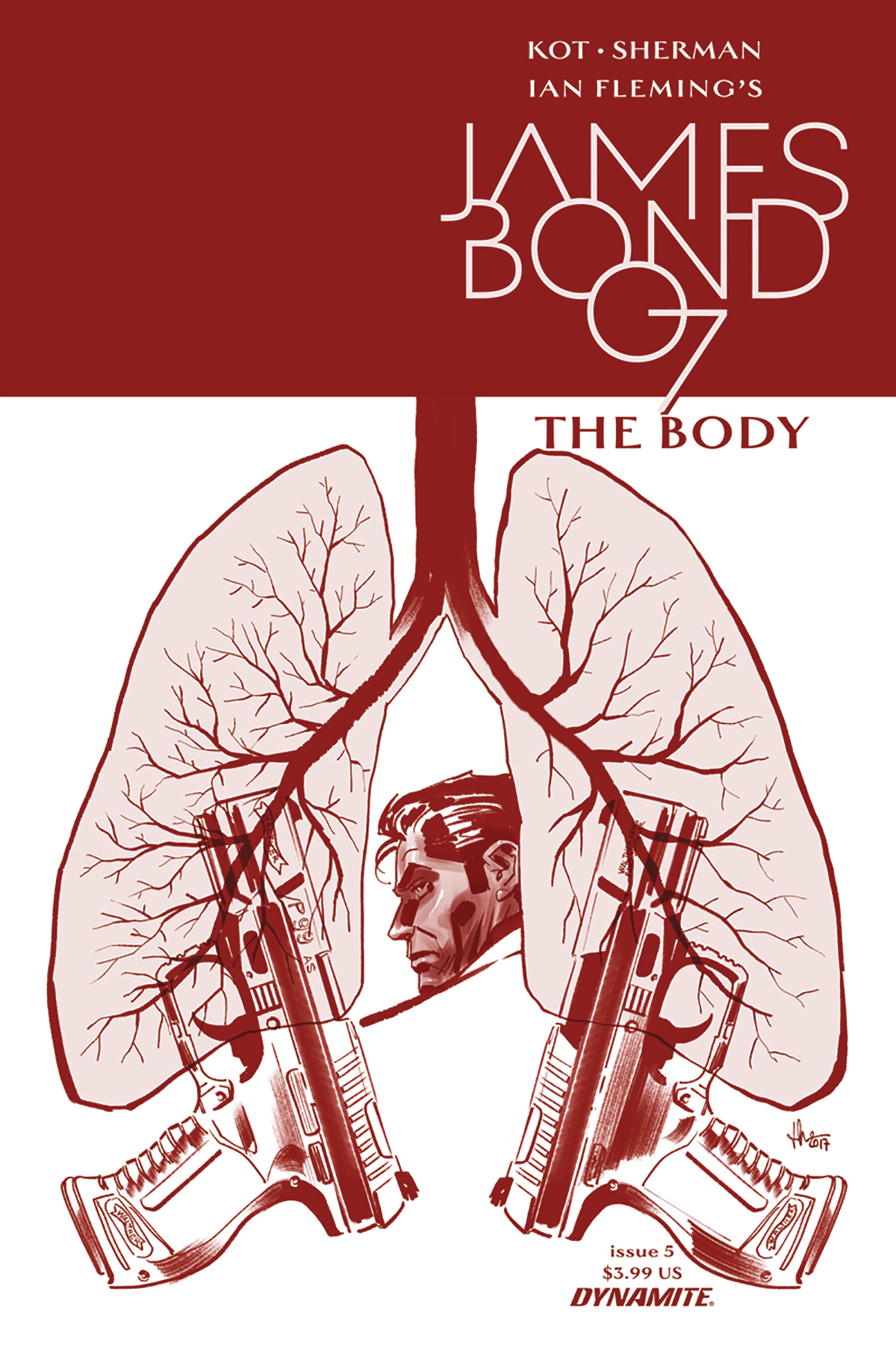 JAMES BOND THE BODY #5 (OF 6) CVR A CASALANGUIDA