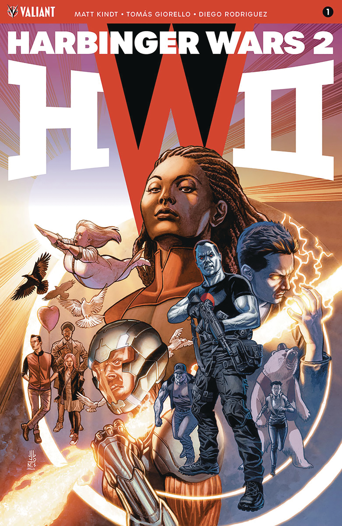 HARBINGER WARS 2 #1 (OF 4) CVR A JONES