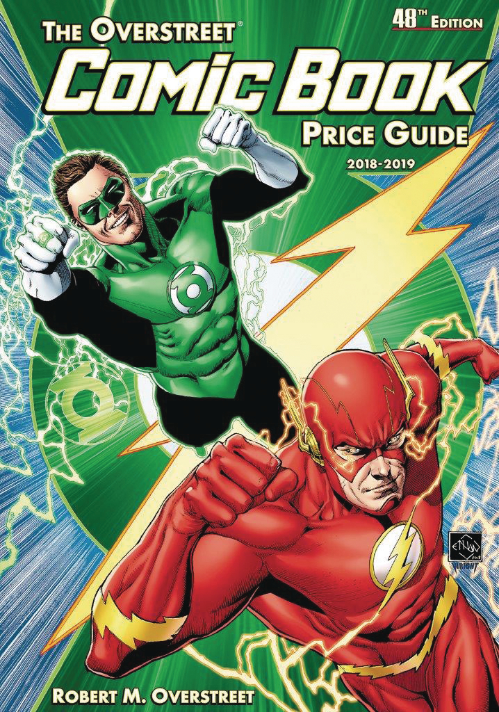 OVERSTREET COMIC BK PG HC VOL 48 FLASH GREEN LANTERN (APR181