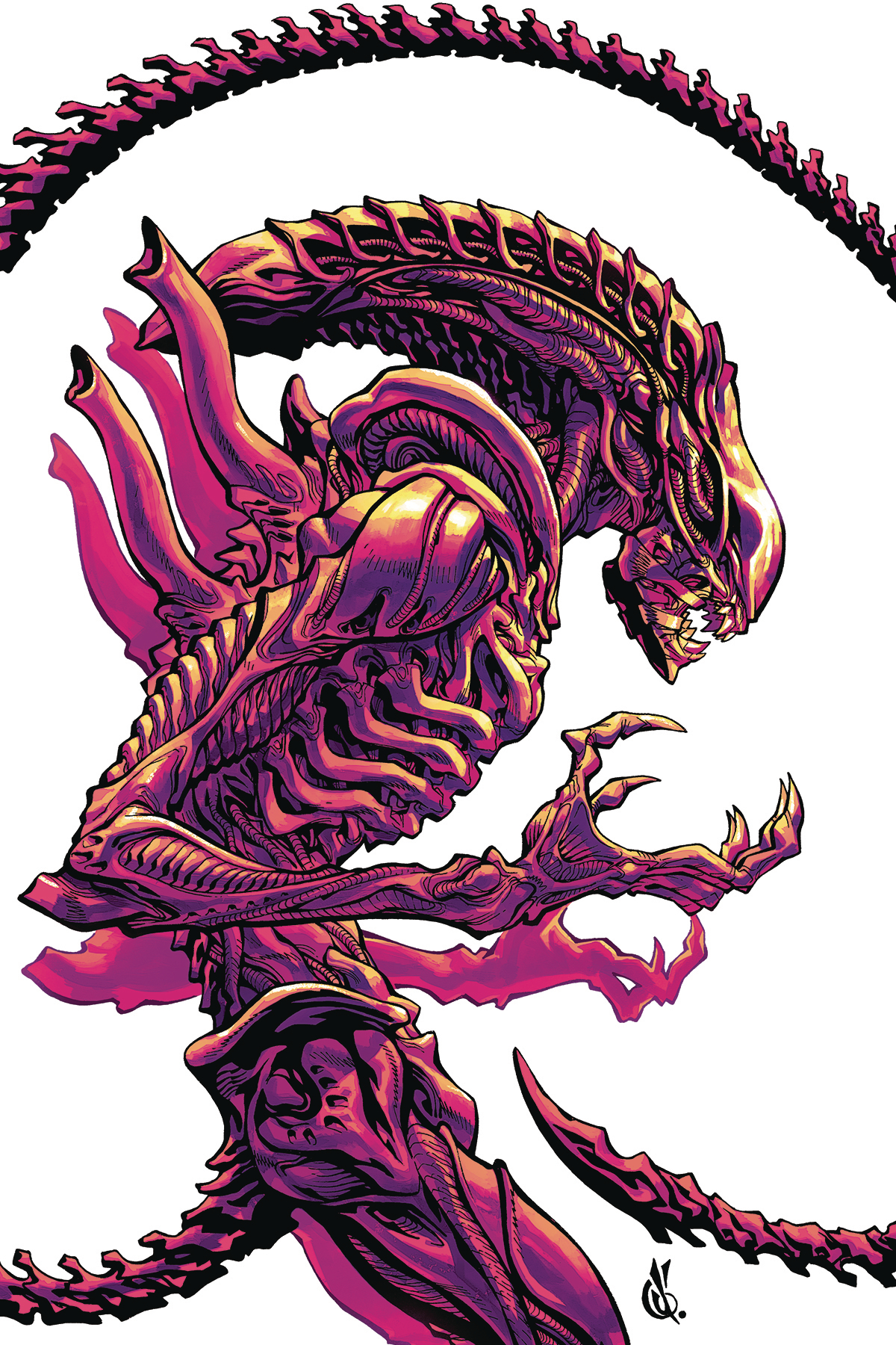 ALIENS DUST TO DUST #2 (OF 4) VAR D ANDA CVR (MR)