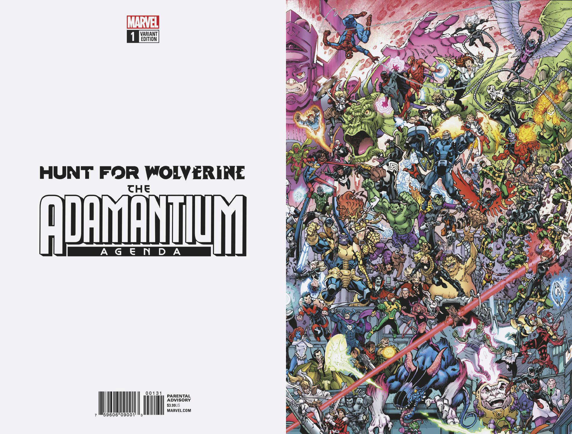 HUNT FOR WOLVERINE ADAMANTIUM AGENDA #1 (OF 4) WHERES WOLVER