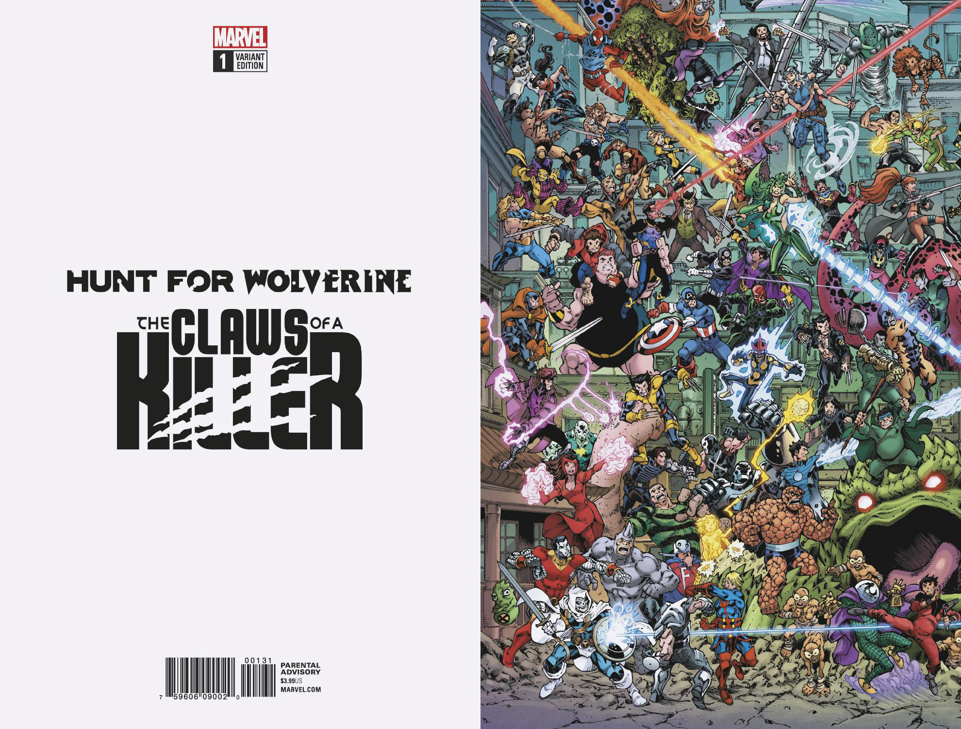 HUNT FOR WOLVERINE CLAWS OF KILLER #1 (OF 4) WHERES WOLVERIN