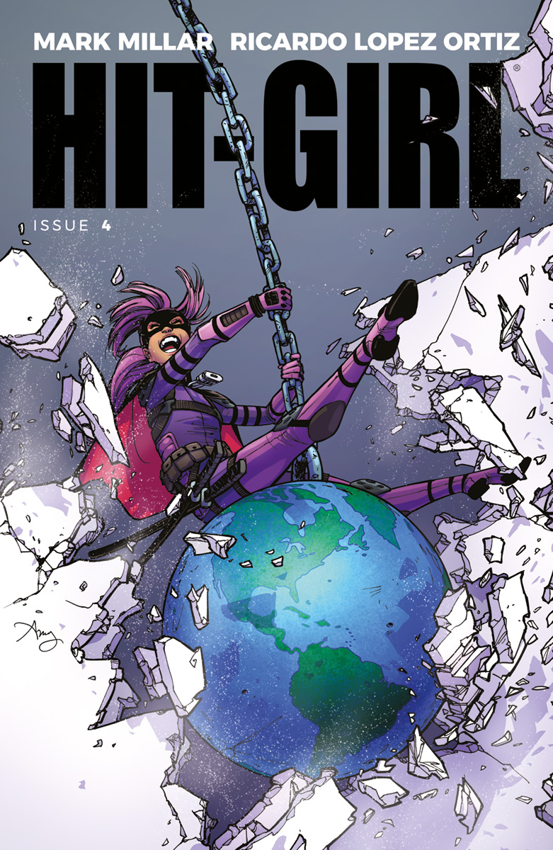 HIT-GIRL #4 CVR A REEDER (MR)