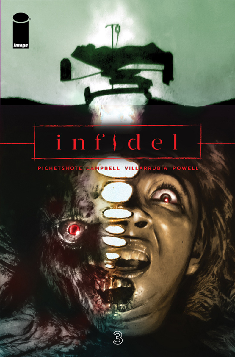 INFIDEL #3 (OF 5) CVR A CAMPBELL & VILLARRUBIA (MR)