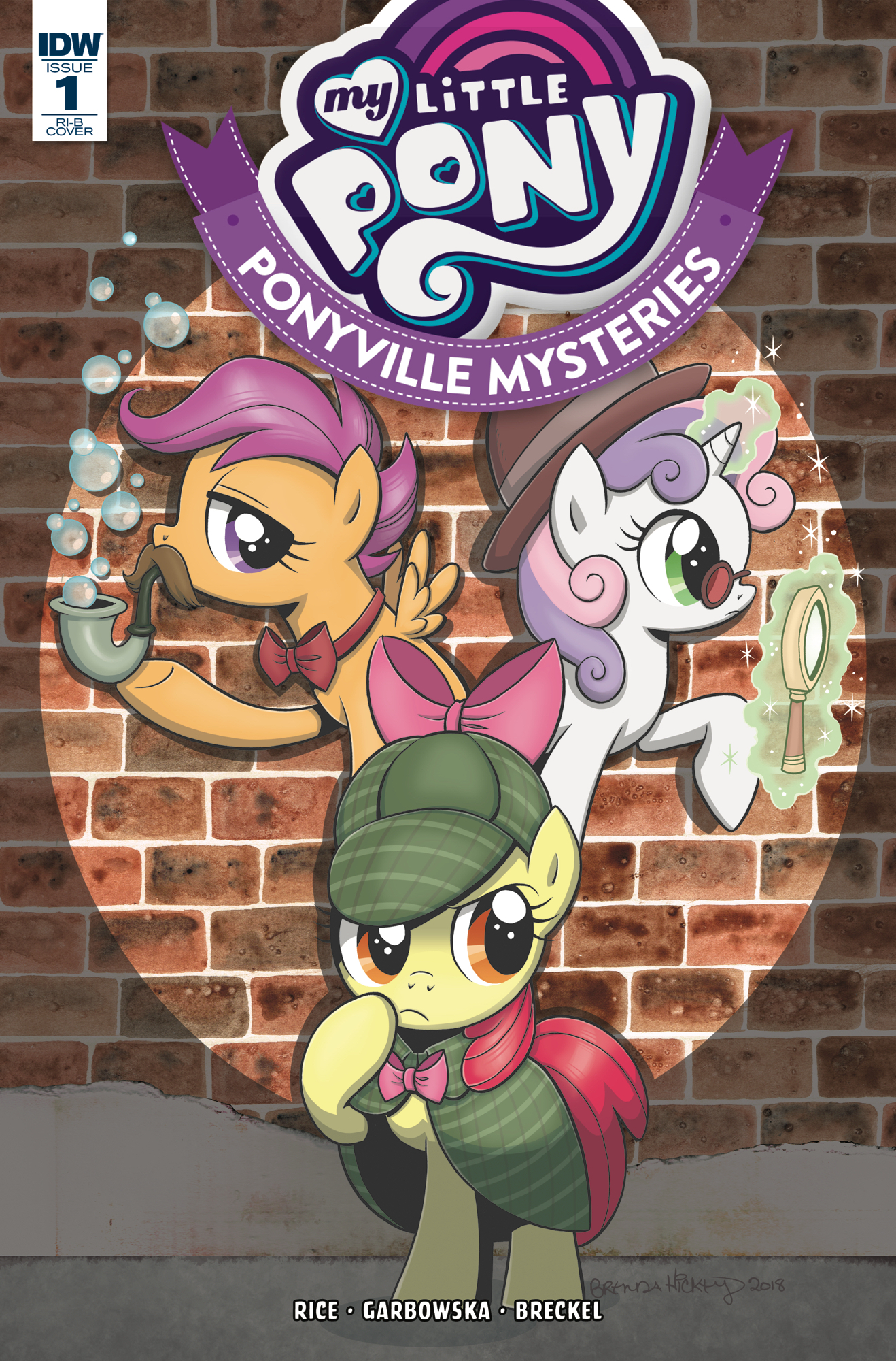 MY LITTLE PONY PONYVILLE MYSTERIES #1 20 COPY INCV