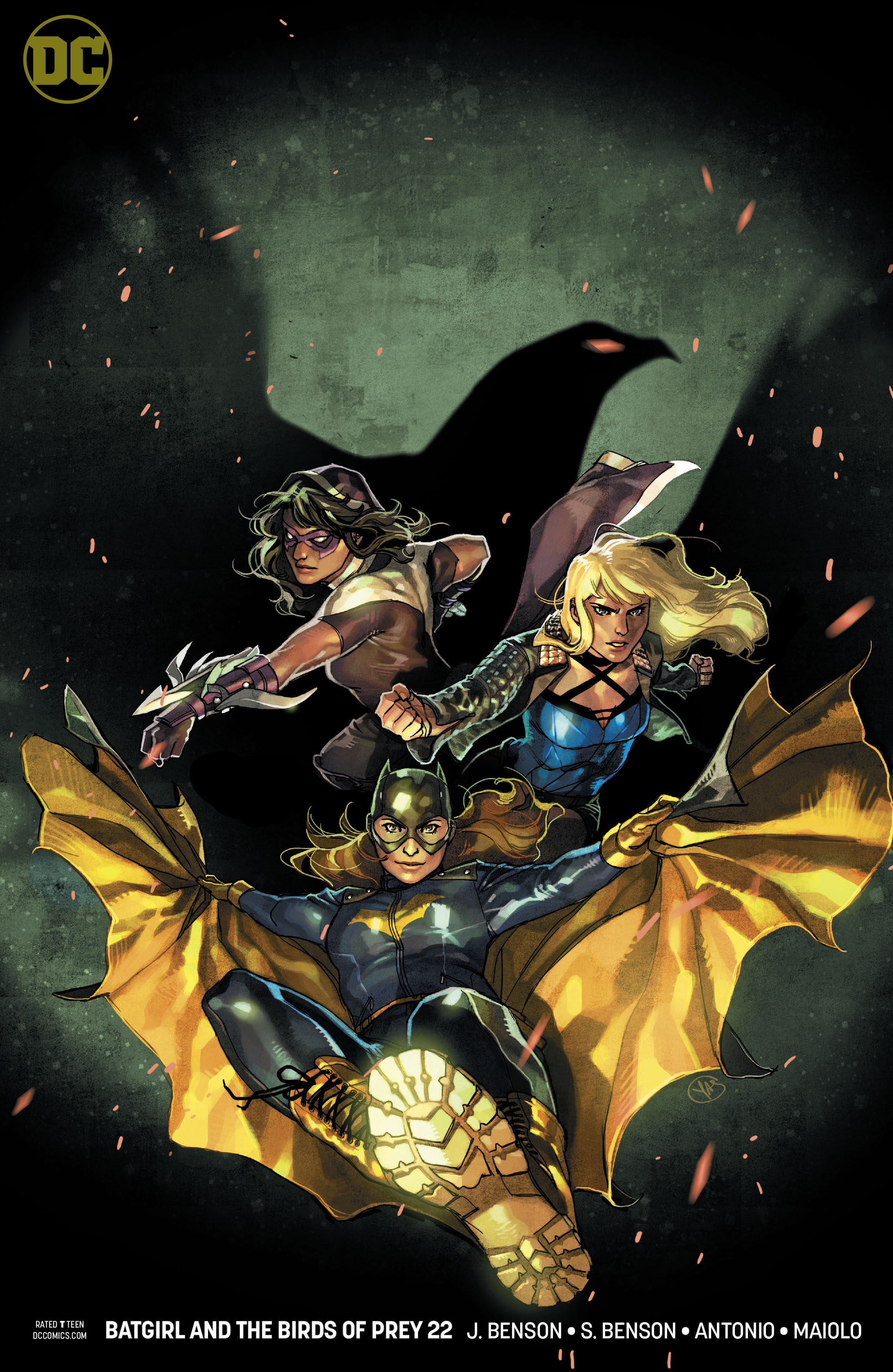 BATGIRL AND THE BIRDS OF PREY #22 VAR ED