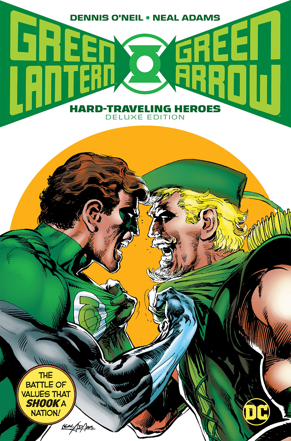 GREEN LANTERN GREEN ARROW HARD TRAVELING HEROES DLX HC