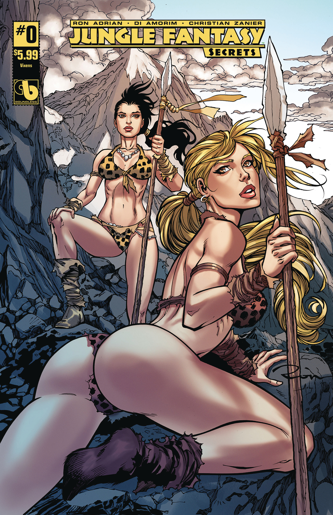 JUNGLE FANTASY SECRETS #0 VIXENS (MR)