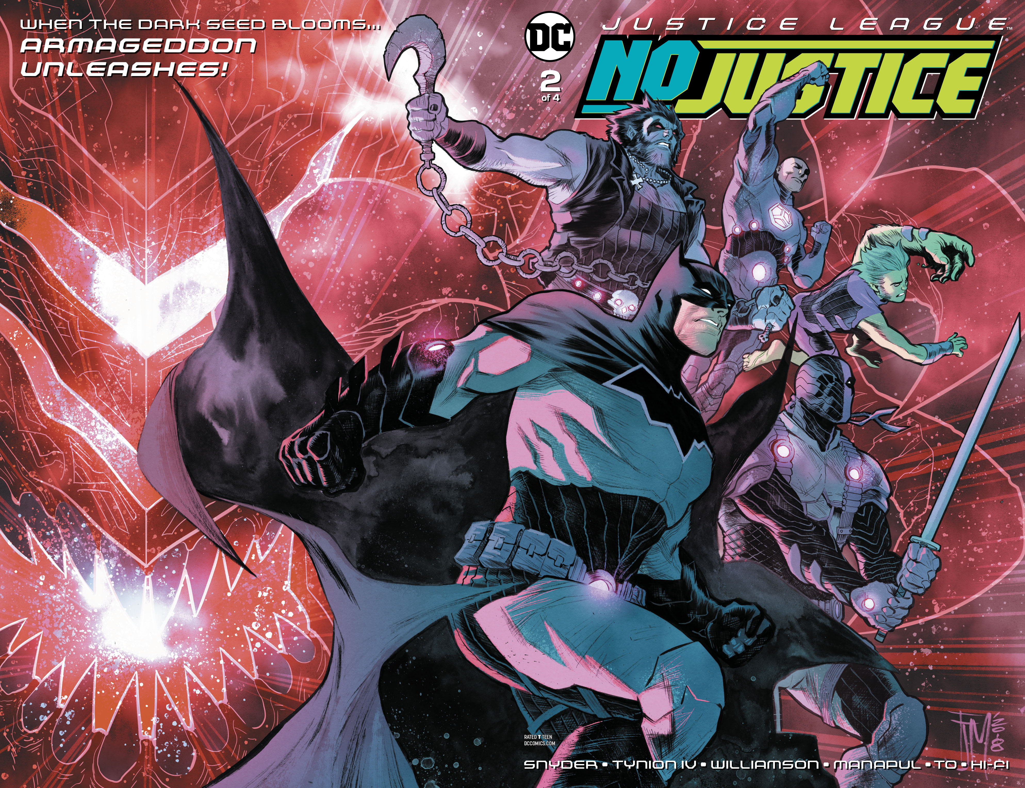 JUSTICE LEAGUE NO JUSTICE #2 (OF 4)