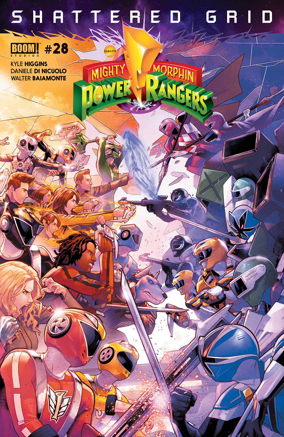 MIGHTY MORPHIN POWER RANGERS #28 MAIN SG