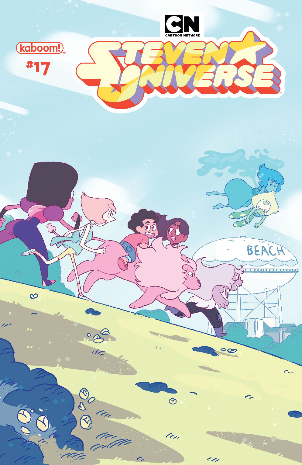 STEVEN UNIVERSE ONGOING #17 SUBSCRIPTION OMAC VAR