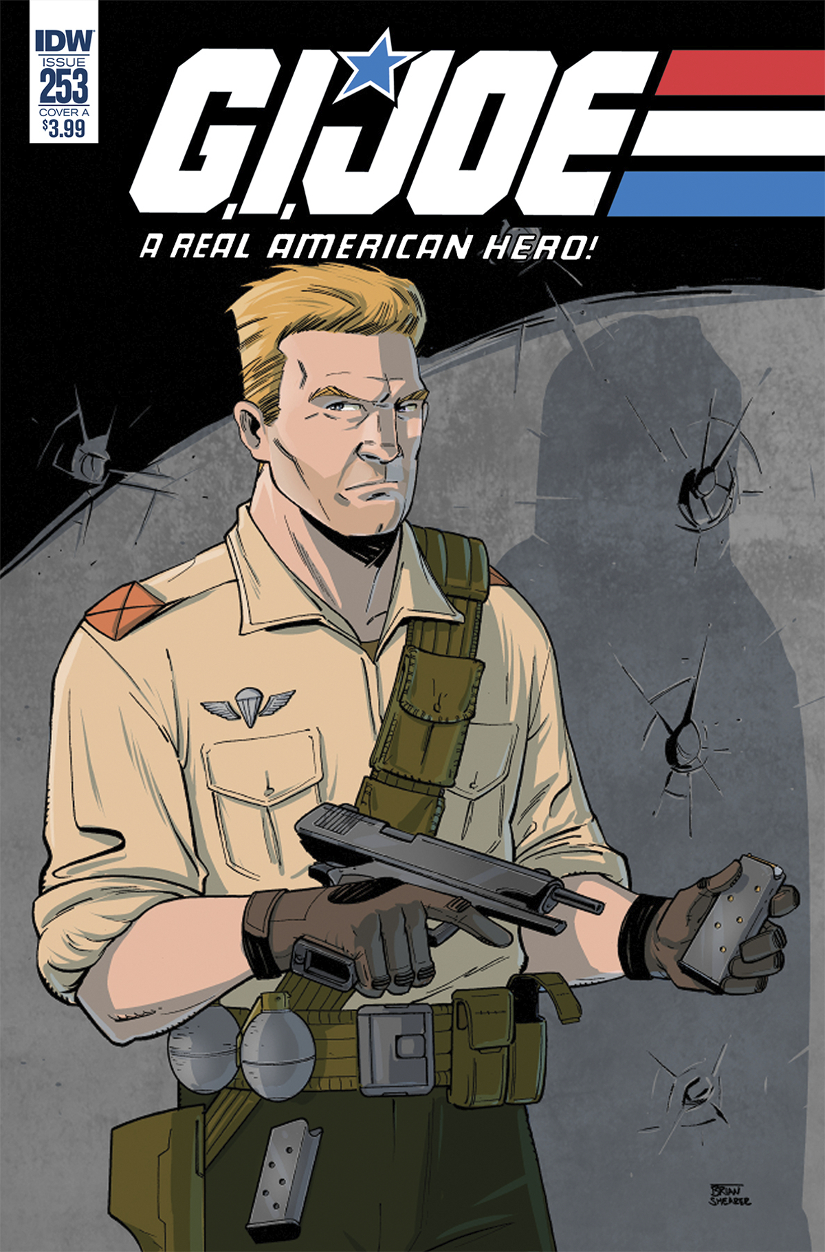 GI JOE A REAL AMERICAN HERO #253 CVR A SHEARER