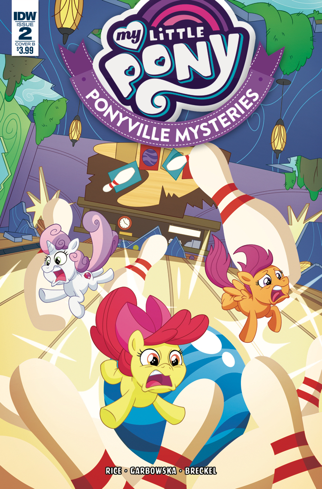 MY LITTLE PONY PONYVILLE MYSTERIES #2 CVR B MURPHY