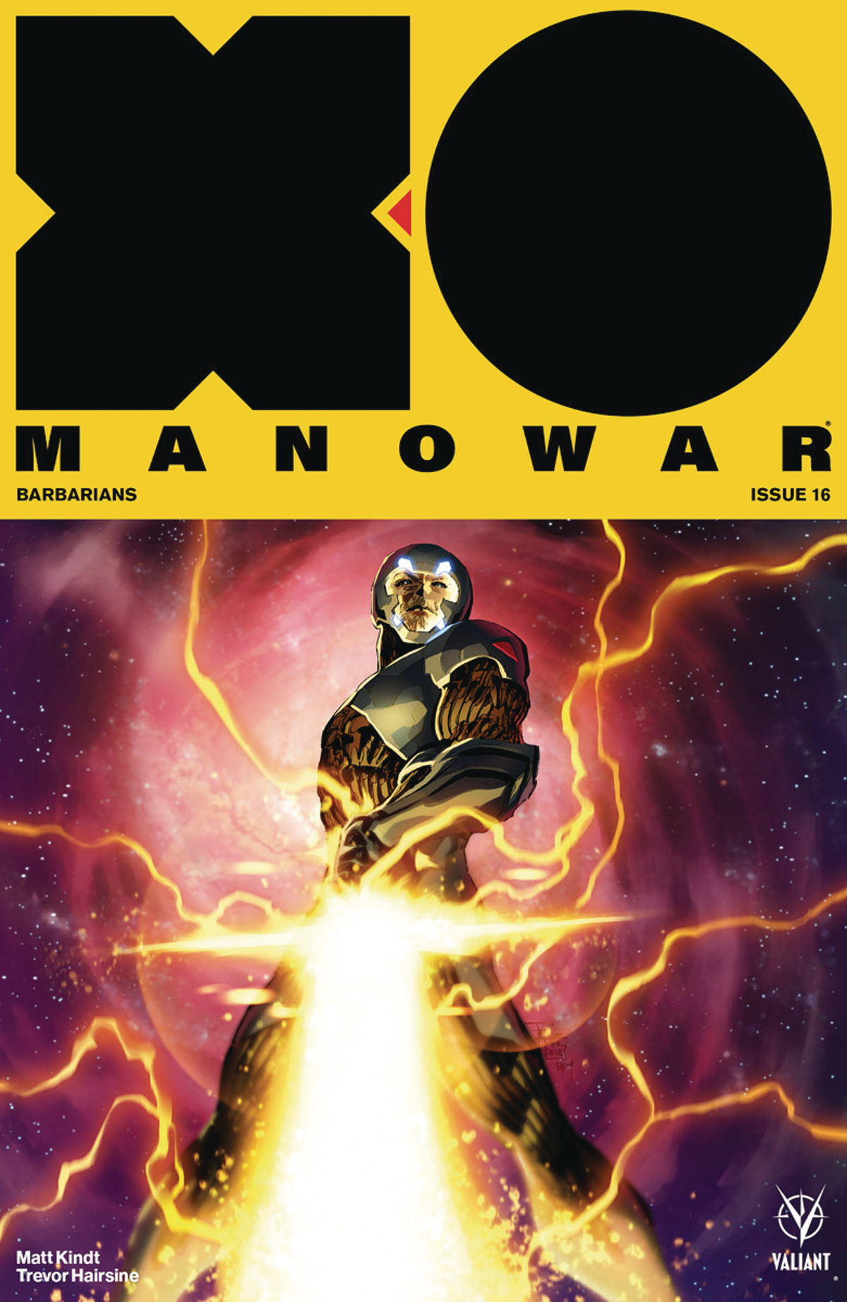 X-O MANOWAR (2017) #16 CVR D 50 COPY INCV ICON TAN