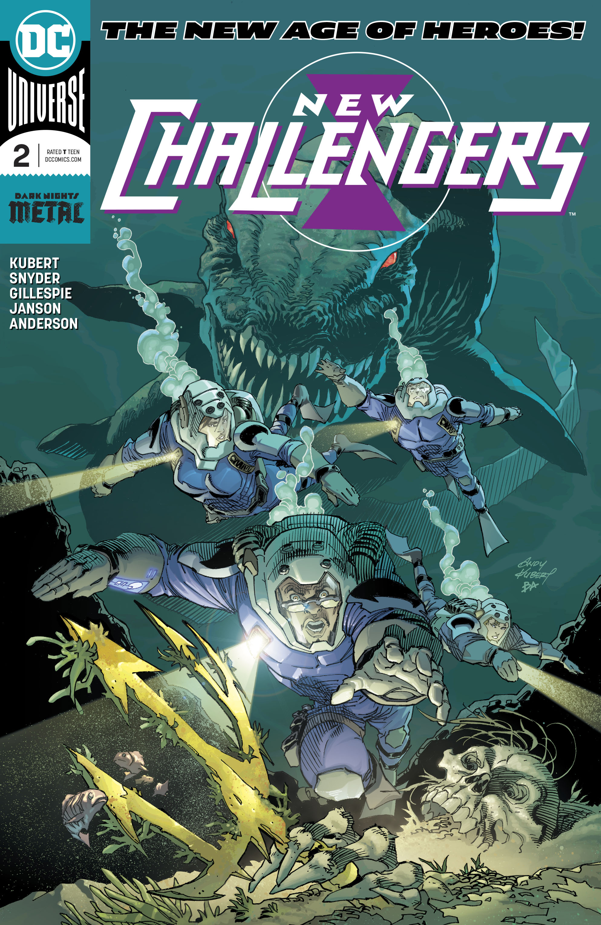 NEW CHALLENGERS #2 (OF 6)