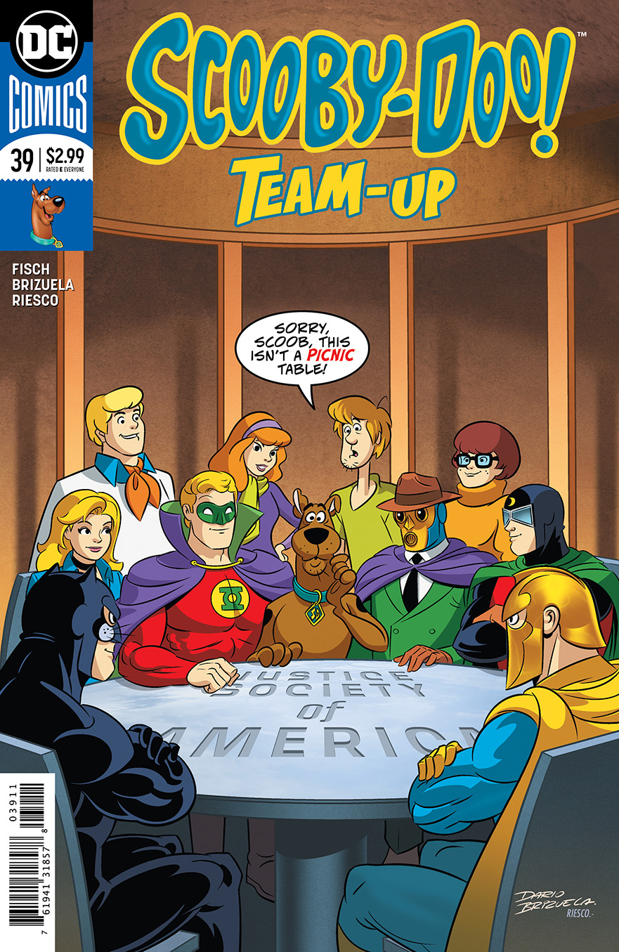 SCOOBY DOO TEAM UP #39