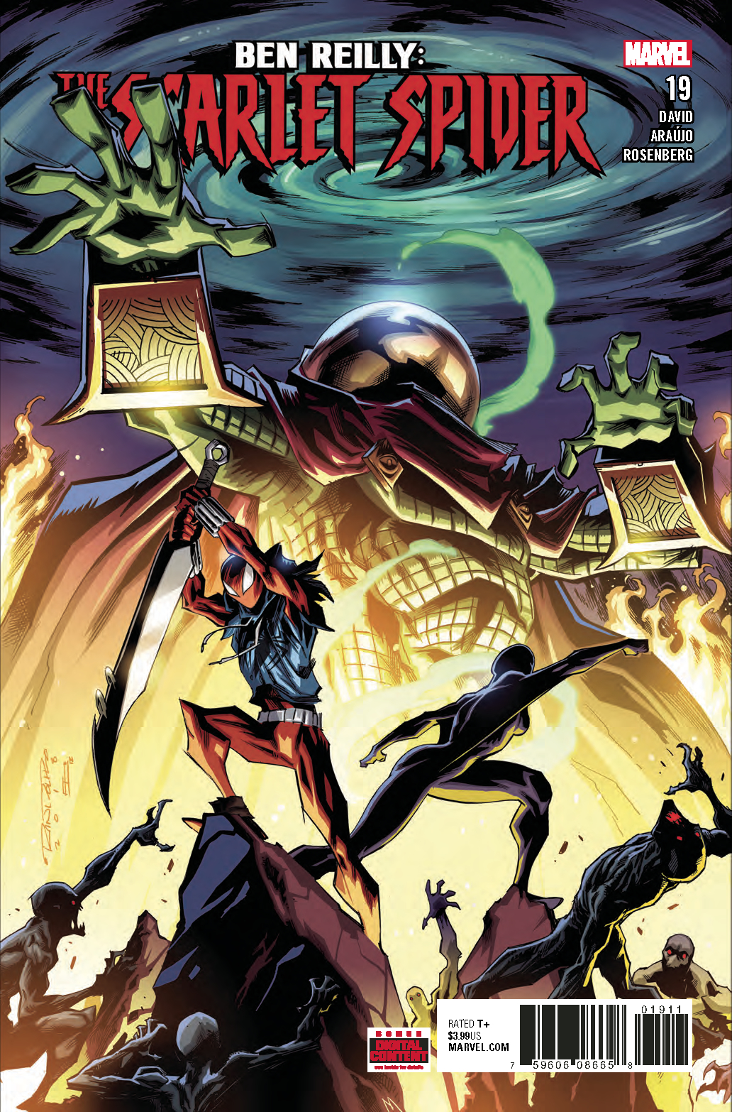 BEN REILLY SCARLET SPIDER #19