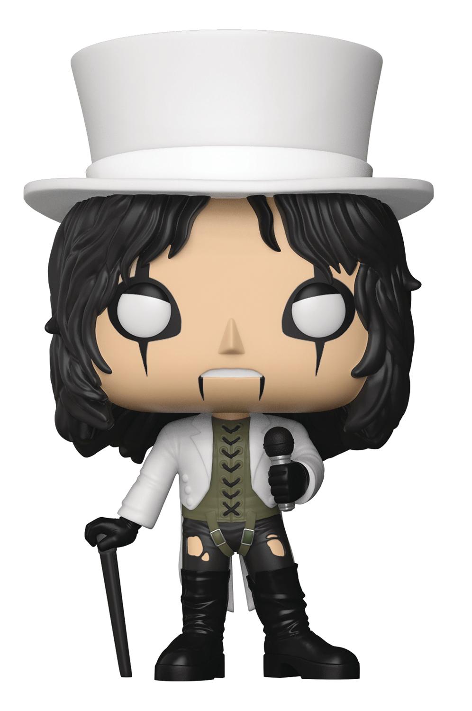 Jan188300 Pop Rocks Alice Cooper Vinyl Figure Previews