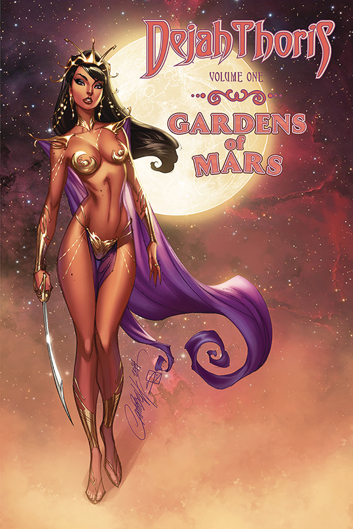 DEJAH THORIS GARDENS OF MARS TP (JUL181323)
