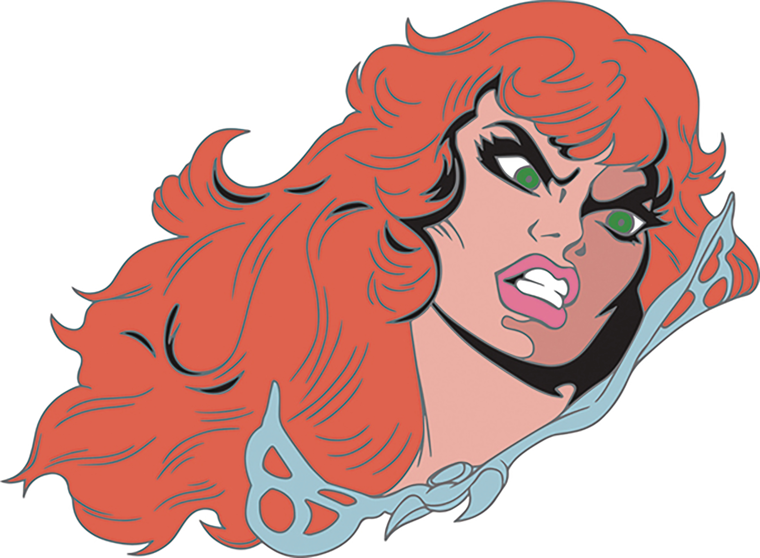 RED SONJA ENAMEL PIN