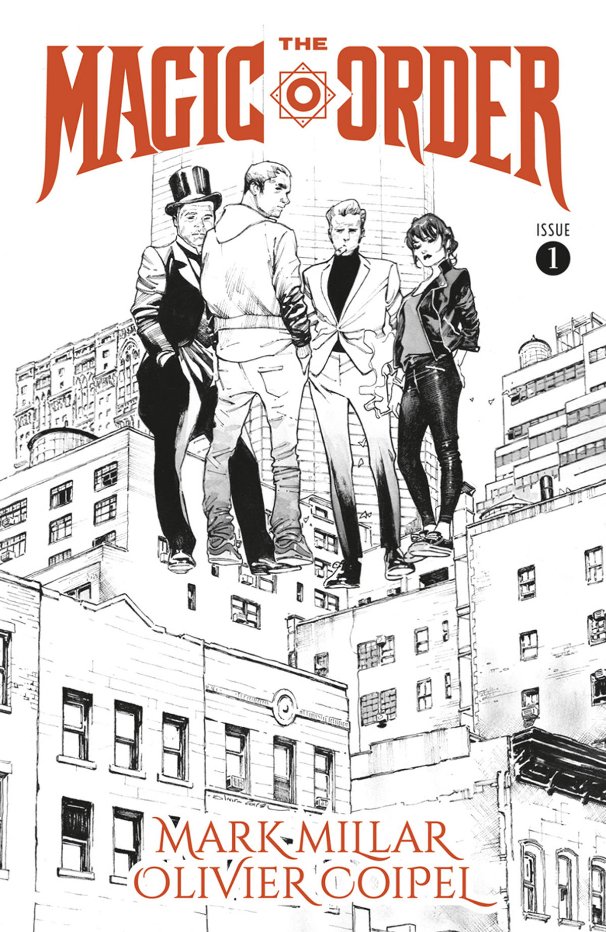 MAGIC ORDER #1 (OF 6) CVR B B&W COIPEL (MR)
