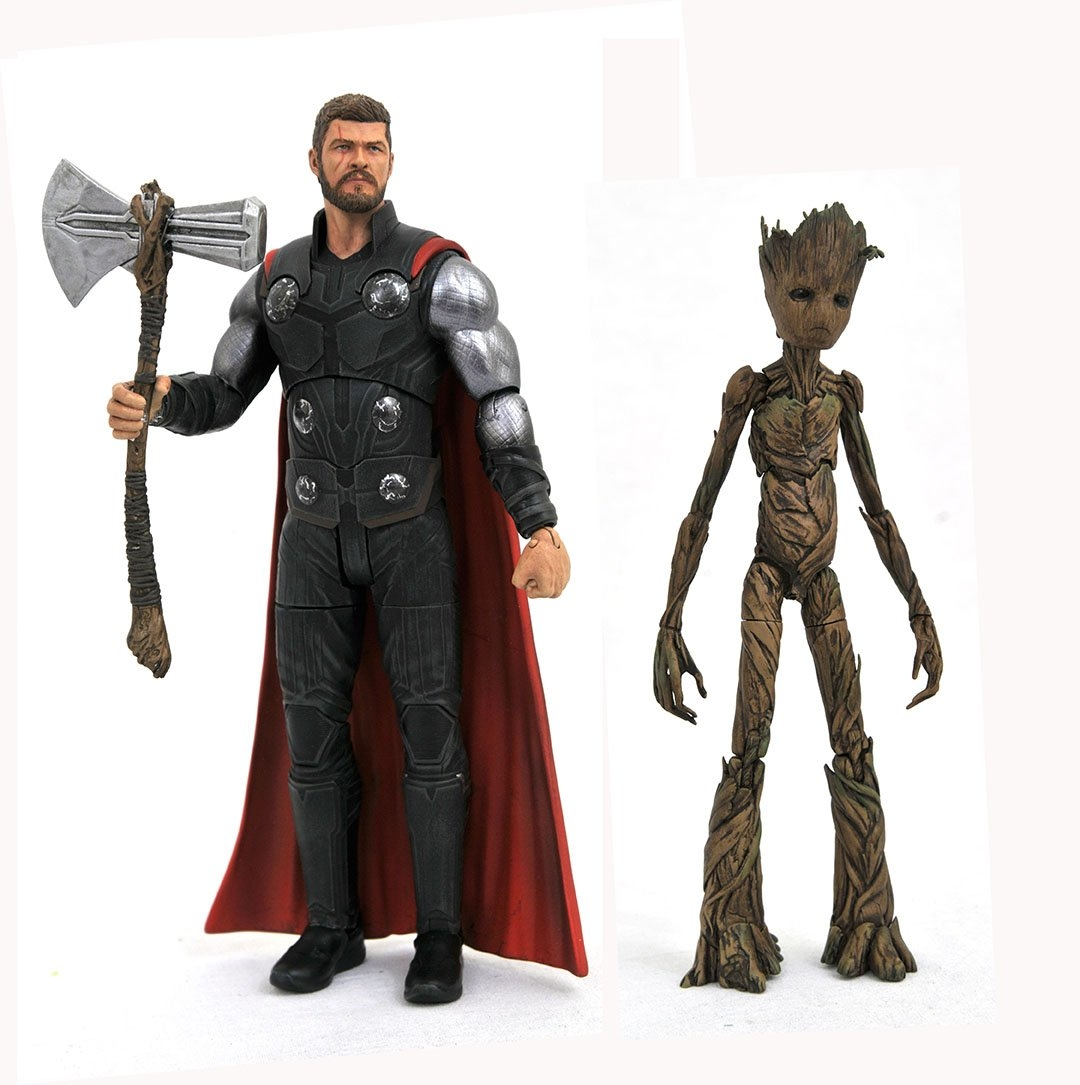 MARVEL SELECT AVENGERS 3 THOR AF (JAN188712)