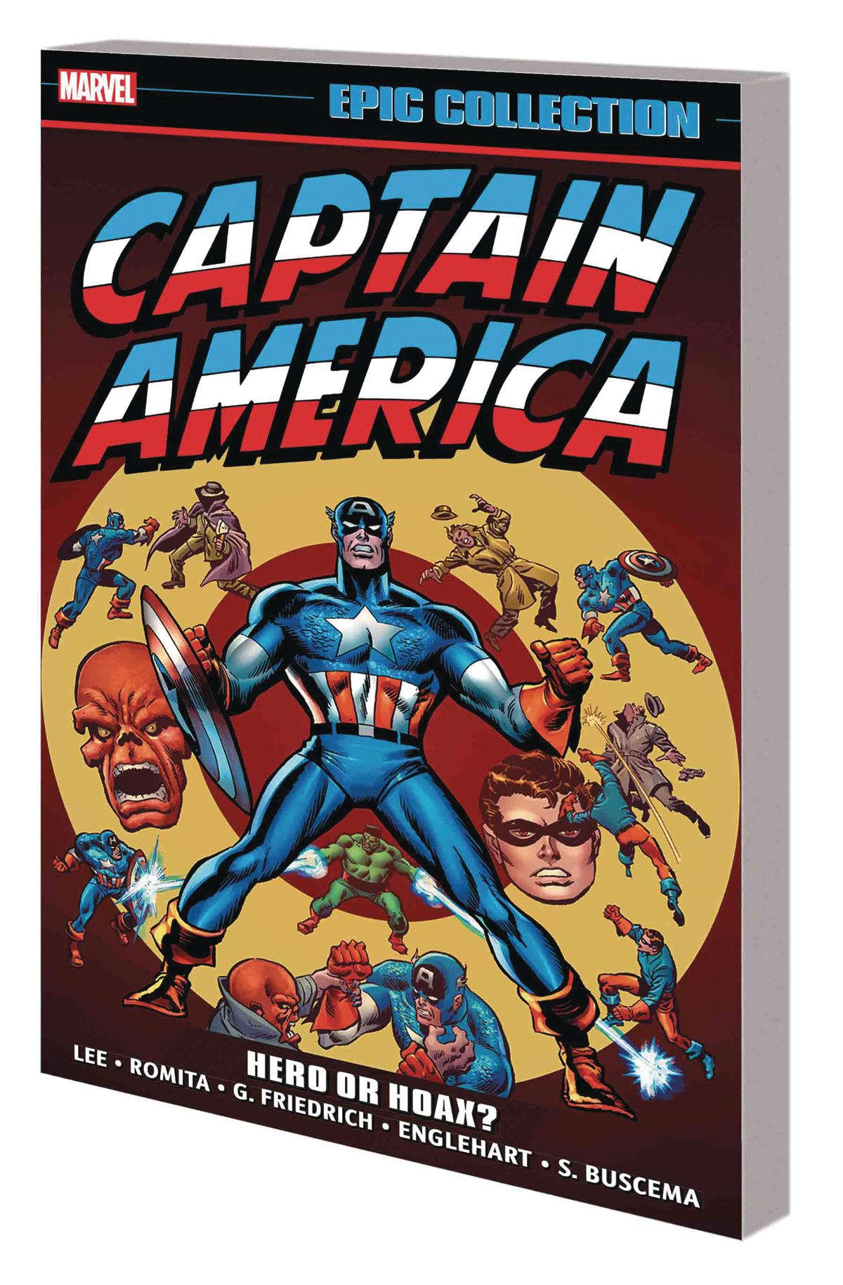 CAPTAIN AMERICA EPIC COLLECTION TP HERO OR HOAX