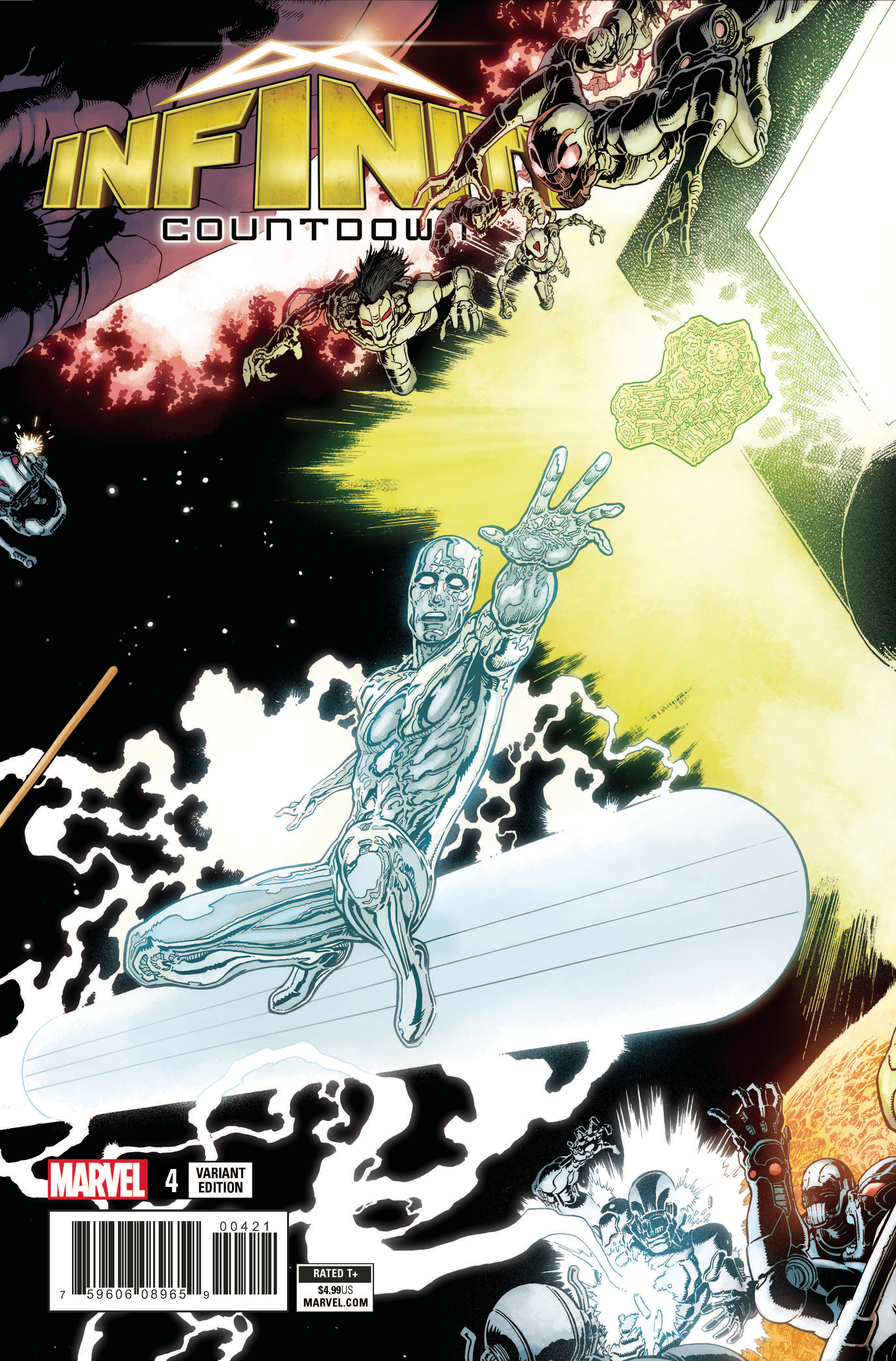 INFINITY COUNTDOWN #4 (OF 5) KUDER CONNECTING VAR