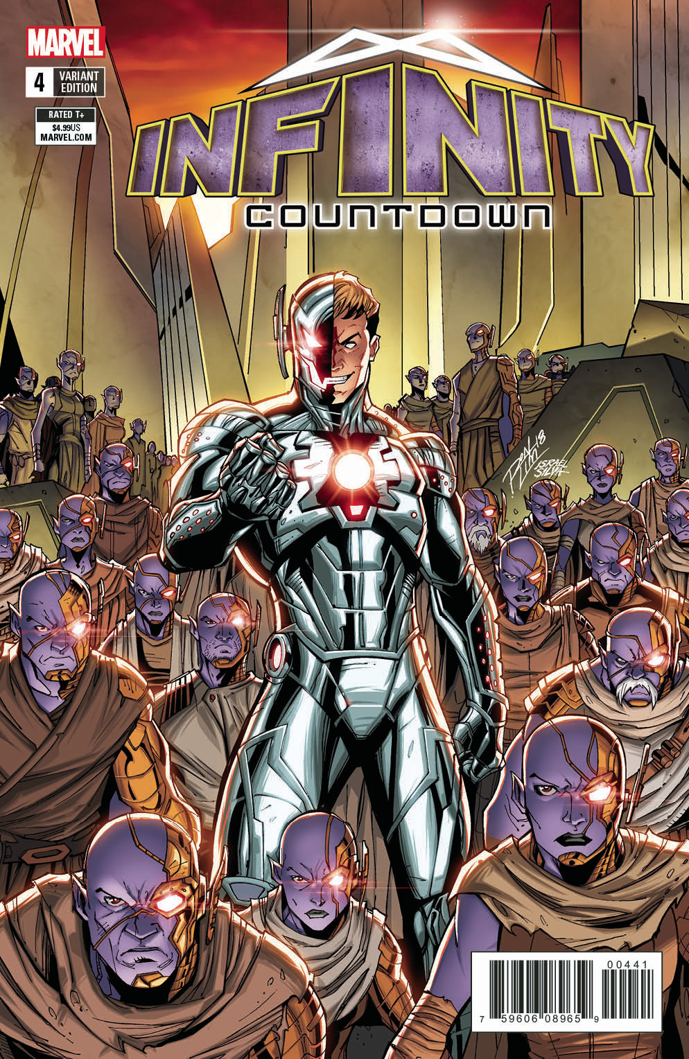 INFINITY COUNTDOWN #4 (OF 5) LIM VAR